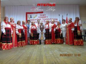 Народный женский костюм Воронежской области