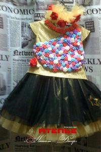 Сценический костюм-Костюм «Цветочная поляна»